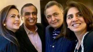 'Giving Mental Peace'! Mukesh And Nita Ambani Visit Rishi And Neetu Kapoor in New York