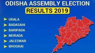 Odisha Assembly Election 2019 Results: Udala, Badasahi, Baripada, Morada, Jaleswar, Bhograi Winners List