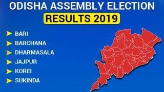 Odisha Assembly Election 2019 Results: Bari, Barchana, Dharmasala, Jajpur, Korei Sukinda Winners List