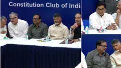 ईवीएम एवं वीवीपैट के मुद्दे पर दिल्ली में 19 विपक्षी नेताओं की बैठक शुरू