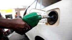 पेट्रोल के दाम में मामूली गिरावट, डीजल का भाव स्थिर