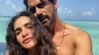 Arjun Rampal And Girlfriend Gabriella Demetriades Set Major Couple Goals With Maldives Vacation Picture