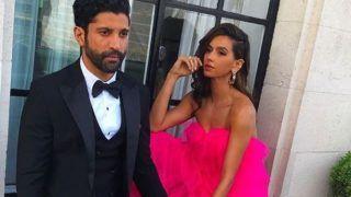 Farhan Akhtar And Beau Shibani Dandekar Get Their Fashion Game on Point, See Picture