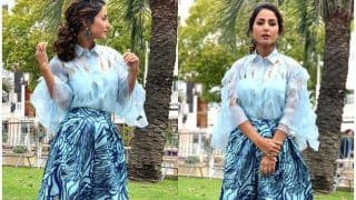 Hina Khan's Snowflake Look on Day 4 of Cannes 2019 is All You Need to Brighten up Your Mood This Weekend!