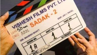 Alia Bhatt Kick-Starts Shooting For Mahesh Bhatt's Sadak 2, Says She is 'Petrified'