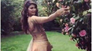 Urvashi Rautela Looks Sizzling Hot as She Flaunts Her Waistline in Garden, Sensuous Video Breaks The Internet