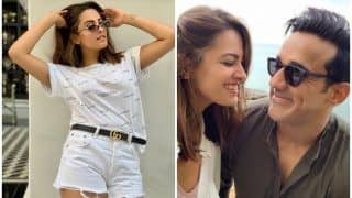 Anita Hassanandani Praising Rohit Reddy's Photography Skills as She Slays in Ripped Shorts is Couple Goals!