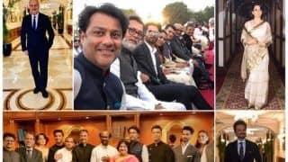 Rajinikanth, Kangana Ranaut, Karan Johar And Other Cine Powerhouse Attend PM Modi's Swearing-in