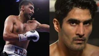 Vijender Singh is Scared of me, Says British Boxer Amir Khan