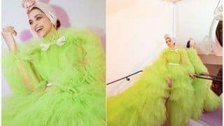 Cannes 2019: Deepika Padukone's Day 2 Look 5 in Giambattista Valli Lime Green Ruffle Gown is Nothing Like You've Seen Before