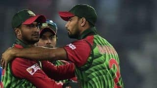Mashrafe Mortaza Backs Shakib Al Hasan 'to do Something Big' in World Cup