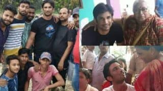 Sushant Singh Rajput Visits His Birthplace in Bihar After 17 Years, Watch Viral Pictures And Videos