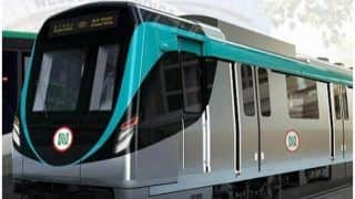 Noida Aqua Line Metro Passengers Troubled as Security Guards Launch Strike Over Non-payment of Salaries