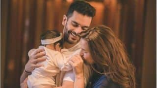 Neha Dhupia-Angad Bedi's Baby Girl Mehr Turns Six Months Old, Mother Shares Adorable Family Picture