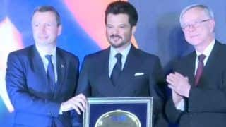 AnilKapoor Felicitated byCouncil of European Chambers of Commerce inIndia