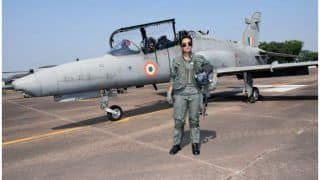 Mohana Singh Becomes First Indian Woman Fighter Pilot to Fly Hawk Advanced Jet Aircraft