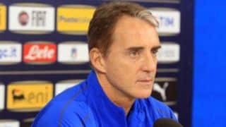 Italy's Head Coach Roberto Mancini Takes a Dig at 'Brexit'