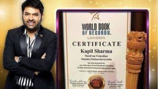Kapil Sharma Gets Honoured by World Book of Records London, Becomes Most Viewed Stand-Up Comedian