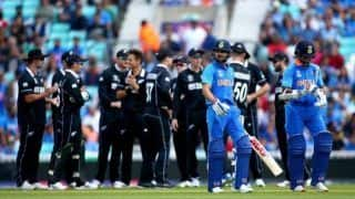 World Cup Warm-Up: Indian Top-Order Cuts Sorry Figure in Warm-up Against New Zealand
