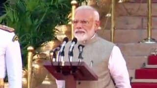 Modi Takes Oath as PM; Amit Shah Gets Inducted Into Cabinet