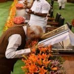 PM Narendra Modi, His Council of Ministers to Take Oath Today; Rashtrapati Bhavan Decked up For Ceremony