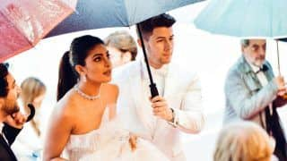 Cannes 2019: When Nick Jonas Held an Umbrella For Wife Priyanka Chopra at The Red Carpet - See Pics
