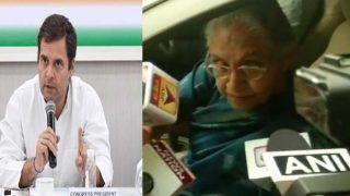 इस्तीफे पर अब भी अड़े राहुल गांधी, शीला समेत कई नेताओं ने फैसला बदलने का आग्रह किया