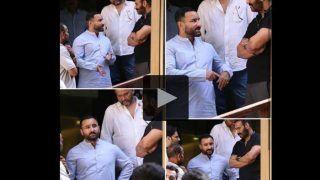 चर्चा में सैफ अली खान का नया हेयरकट, देखें वीडियो