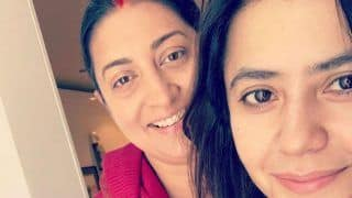 Smriti Irani And Ekta Kapoor Visit Siddhivinayak Temple After Former's Win in Lok Sabha Election 2019