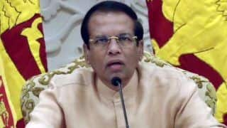 Sri Lankan President Sirisena Extends Emergency For Another Month  Post Easter Sunday Blasts