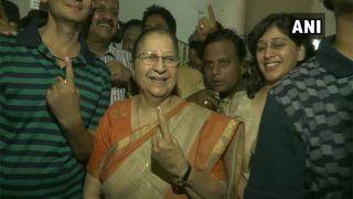 देश में लगातार दूसरी बार बनेगी पूर्ण बहुमत की मोदी सरकार: सुमित्रा महाजन
