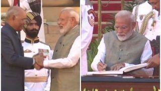 मोदी सरकार का शपथ ग्रहण Live Updates: दूसरी बार PM बने नरेंद्र मोदी, अमित शाह, राजनाथ सहित ये चेहरे कैबिनेट में शामिल