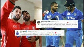 KL Rahul, Shikhar Dhawan Congratulates Yuvraj Singh During ICC World Cup 2019 After Southpaw Announces Retirement | SEE POST