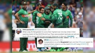 Ban vs SA: Bangladesh Beat South Africa by 21 Runs in ICC World Cup 2019 Clash, Twitterverse Hail The Tigers | SEE POSTS