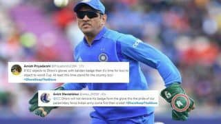 MS Dhoni Keep The Glove, Fans Request Former Skipper to Don The Army Insignia During ICC World Cup 2019 After ICC Asks BCCI to Not Allow | SEE POSTS