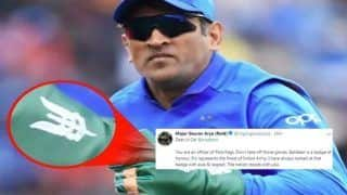 Major Gaurav Arya (Retd) Requests MS Dhoni to Keep Donning His Army Insignia Balidaan Badge After ICC Asks BCCI to Remove it During ICC World Cup 2019 | POST