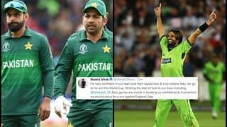 Eng vs Pak: Shahid Afridi's Motivational Message For Sarfaraz Ahmed-Led Pakistan is Just What Was Needed Ahead of ICC World Cup 2019 Tie Against England | SEE POST
