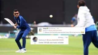 Ind vs SA: Yuzvendra Chahal TROLLED After Virat Kohli Gives Him Throwdowns Ahead of Team India's ICC World Cup 2019 Opener Against South Africa | SEE POSTS