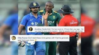 ICC Cricket World Cup 2019: Kagiso Rabada Faces Flak For His 'Immature Comment' Against Virat Kohli, Twitter Trolls South Africa Pacer | SEE POSTS