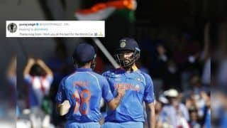 Yuvraj Singh Responds to Virat Kohli's Congratulatory Post, Wishes Team India Good Luck For ICC Cricket World Cup 2019 | SEE POST