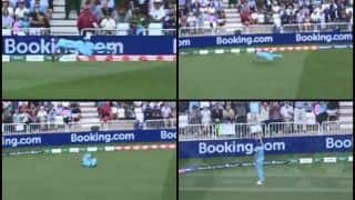 Eng vs Pak: Chris Woakes Takes an Exceptional Catch to Dismiss Imam ul Haq as Moeen Ali Picks His Second Wicket During England's ICC World Cup 2019 Game Against Pakistan