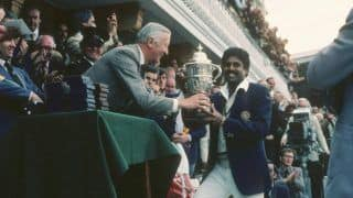 36th Anniversary Of India's Maiden World Cup Win In 1983
