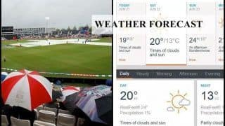 India vs Afghanistan Weather Report: Forecast For IND vs AFG, Will Rain Play Spoilsport?