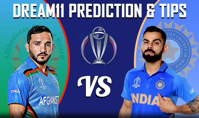 IND vs AFG Dream11 Team - Check My Dream11 Team, Best