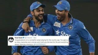 Virat Kohli Congratulates Yuvraj Singh During ICC World Cup 2019 After Southpaw Announces Retirement | SEE POST