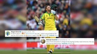 Aaron Finch Breaks Ricky Ponting's Record, Slams Century During Australia vs Sri Lanka ICC Cricket World Cup 2019 Match; Twitter Applauds Aussie Captain | SEE POSTS