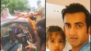 Bharatiya Janata Party's Gautam Gambhir TROLLS Aam Aadmi Party's Lookalike With a Picture of His Daughter | SEE POST