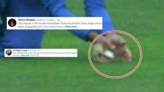 Hashmatullah Shahidi's Catch to Dismiss Liton Das During Bangladesh vs Afghanistan ICC Cricket World Cup 2019 Match Stirs Controversy | SEE POSTS