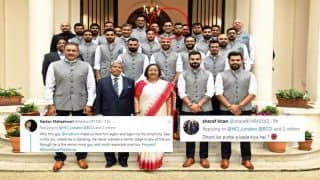 Virat Kohli And Team India Visit High Commissioner's Residence in London Ahead of ICC World Cup 2019 Clash Against Australia, MS Dhoni Mysteriously Creates Twitter Buzz | SEE POSTS