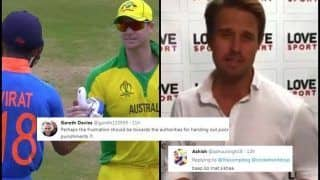Nick Compton TROLLED For Slamming Virat Kohli's Gesture of Asking Fans Not to Boo Steve Smith, David Warner During India's ICC Cricket World Cup 2019 Game Against Australia | SEE POSTS